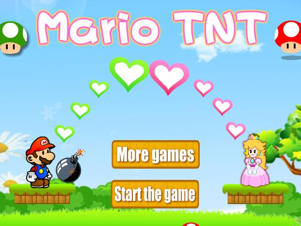 super mario tnt flash game